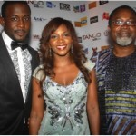 The director and two lead stars Genevieve Nnaji and Joseph Benjamin